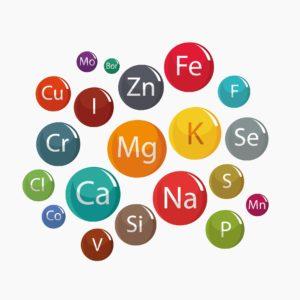 Lebenswichtige Vitamine - Magnesium, Zink, Selen, Calcium