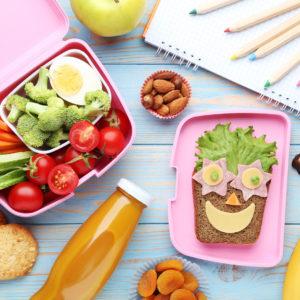 Gesunde und kreative Pausenbox
